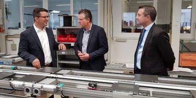 Thorsten Frei und Industrie 4.0 – Besuch bei STEIN Automation