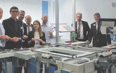 STEIN als Partnerfirma im Konsortium der FTS-Lernfabrik 4.0
